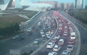 Bakı şəhəri tıxac