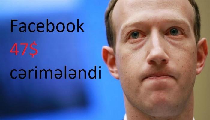 facebook cərimələndi